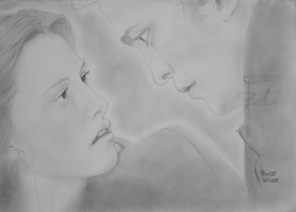 Robert Pattinson, Kristen Stewart by JoyceTirolli